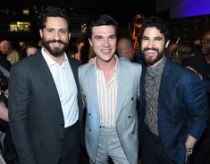 About last night. We celebrated some of this years nominees at the Performers Celebration, including Finn Wittrock, American Crime Story, Just Beauty, Darren Criss, Glee, Role Models, Versace, Fangirl, It Cast