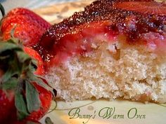 Strawberry Upside Down Cake!