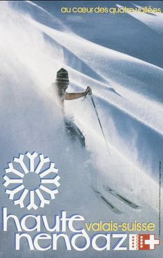 Haute Nendaz by Glassey, Jacques 1982 S Ki Photo, Ski Card, Gondola Lift, Ski Wedding, Swiss Ski, Vintage Ski Posters, Ski Holidays, Journey, The Mountains Are Calling