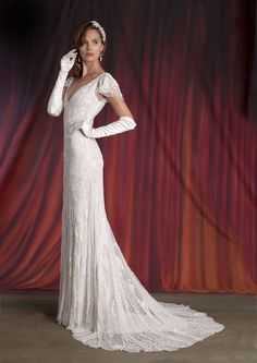 Jayne wedding dress • The new Eliza Jane Howell bridal collection is the epitome of grown-up vintage glamour