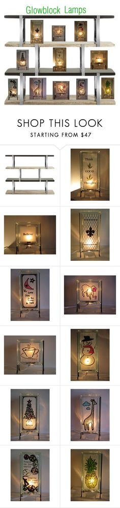 """""""Accent Lamps"""" by glowblocks on Polyvore featuring interior, interiors, interior design, home, home decor, interior decorating and kitchen"""