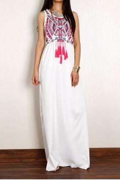 vintage-print-sleeveless-chiffon-maxi-dress