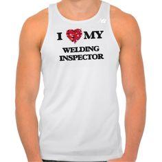 I love my Welding Inspector New Balance Running Tank Top Tank Tops
