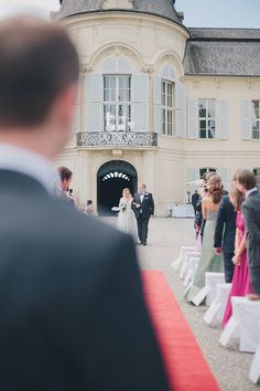 Austrian Wedding at Castle Niederweiden Indoor Ceremony, Wedding Ceremony, Happily Ever After, Real Life, Marie, Street View, Castle Weddings, Pretty, Destination Weddings