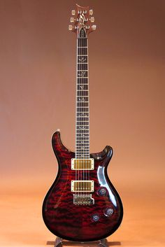 PRS[Paul Reed Smith ポールリードスミス] 25th Anniversary Custom 24 10 top Quilt/Fire Red Burst|詳細写真