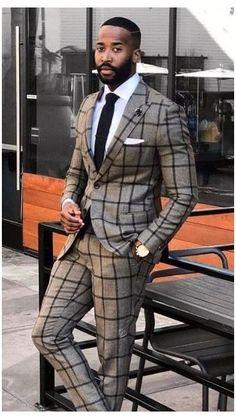 Blazer Outfits Men, Stylish Mens Outfits, Mens Fashion Suits, Mens Suits, Men's Fashion, Fashion Styles, Designer Suits For Men, African Men Fashion, Dapper Men