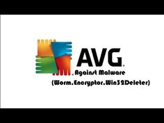 AVG Antivirus free vs Malware (Worm,Encryptor and Win32 Delete) - YouTube
