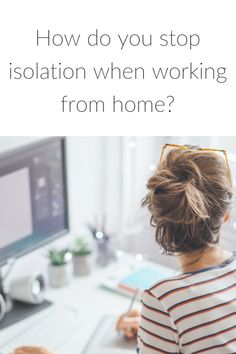 How do you stop isolation when working from home? – Healthy Vix - tips to prevent loneliness if you work at home How Do You Stop, How To Make Money, Work From Home Business, Business Tips, Positive Mental Health, Happy Photos, Health Challenge, Keep Fit, Blogger Tips
