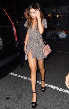 The One Handbag Selena Gomez Can't Put Down via @WhoWhatWearUK