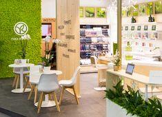 YVES ROCHER AU SALON DE LA FRANCHISE 2017 | Workshop Yves Rocher, Retail Design, Interior Design, Mj, Clinic, Prada, Interiors, Boutique, Furniture