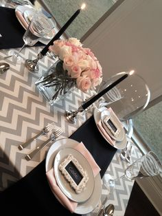 Dinner Tablescape