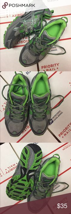 ASICS Brand new ASICS synthetic fiber & synthetic leather upper/ rubber sole. Size 6 Asics Shoes Sneakers