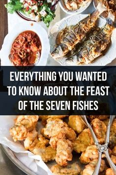 Everything you Wanted to Know About the Feast of the Seven Fishes - Authentic Italian Recipes Quick Recipes, Fish Recipes, Seafood Recipes, Dinner Recipes, Dinner Ideas, Recipies, Italian Christmas Traditions, Italian Christmas Dinner, Fish Dinner