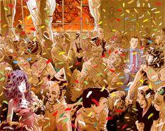 """""""Hotel Pandemonium"""" é uma HQ criada pelo ilustrador Rafael Alvarez para Ipad, com a opção de finais alternativos"""