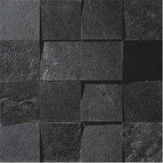 Este revestimento é feito com peças de 7,25 x 7,25 cm, montadas aleatoriamente. Os relevos angulados compõem uma superfície dinâmica, valorizando a textura lúcida do marmore, em um conceito ...