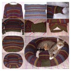 qué hacer con un jersey viejo