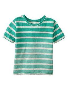 Faded striped shirt | Gap