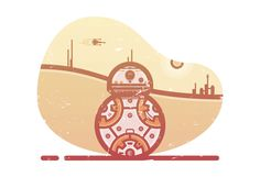 How to Create a Star Wars BB8 Illustration in Adobe Illustrator  Design Psdtuts