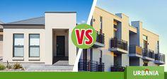 ¿Preferirías vivir en un departamento o en una casa? #UrbaniaVS