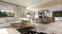 Living Room Interior, Home Living Room, Living Room Designs, Living Room Decor, Fancy Bedroom, Open Plan Kitchen Living Room, Living Room Inspiration, Style At Home, House Design