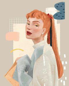Background Drawing, Cute Art Styles, Wow Art, Sketch Painting, Art Drawings Sketches, Portrait Sketches, Portrait Illustration, Pretty Art, Portrait Art