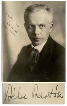 "Hungarian composer Bela Bartok His ""Miraculous Mandarin"" ballet and the ""Music for Strings, Percussion and Celesta"" are two of his most successful compositions. Bela Bartok, Classical Music Composers, Opera Singers, Music Icon, Conductors, Special People, Music Love, Famous Faces, Historical Photos"