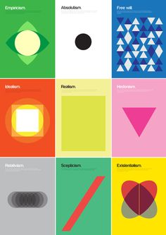 Philosophical Theories posters by Genis Carreras