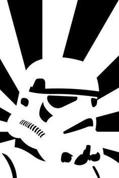 Storm Trooper Cool - Star Wars - iPhone Wallpaper