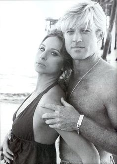 Katie & Hubbell from the Way We Were (Barbara Streisand & Robert Redford)
