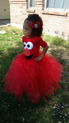 DIY Elmo Halloween Costume