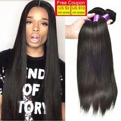 7A Annabelle Hair Company Malaysian Virgin Hair Straight 4 Bundles No Shed No Tangle Maylasian Straight Hair Human Hair Weave