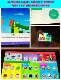 """Find out why we're huge fans of @SamsungUSA's Galaxy Tab S 8.4"""" for kids!
