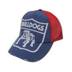 baef00d3b63 Western Bulldogs Shield Cap  24.95 Funky Retro Trucker Cap