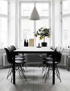 9 finest scandinavian dining room design ideas with swedish style 7 « Kitchen Design