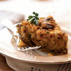 Matzo, Mushroom, and Onion Kugel Recipe - Delish