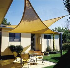 Sail Shades Durable Stylish And Inexpensive Come In Both Triangles Squares Shapes With Concave Edges Which Give Them That Flying Jib