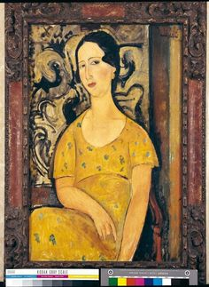 Amedeo Modigliani, La Belle Espagnole ou Madame Modot, 1918 on ArtStack #amedeo-modigliani #art