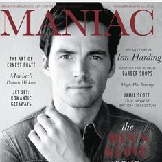Ian Harding as the cover model of Maniac Magazine! | Pretty Little Liars