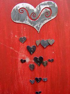 Hearts windchime!