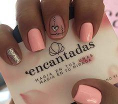 Nail Decorations, Nails Inspiration, Gel Nails, Nail Designs, Nail Art, Beauty, Ideas, Colorful Nails, Designed Nails