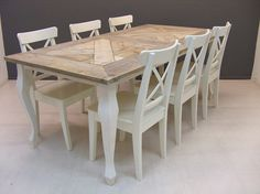 8 best tafels images on pinterest dining room lunch room and plank