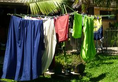 Tropical laundry