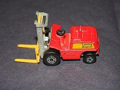 Matchbox Lesney Fork Lift Truck Vehicle Vintage Toy Car Construction Old 1972 have 2 Custom Hot Wheels, Vintage Hot Wheels, Custom Cars, Retro Toys, Vintage Toys, Old School Toys, Corgi Toys, Lifted Chevy Trucks, Matchbox Cars