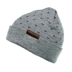 The Monaco Fold-Up Beanie // Grey