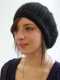 Gemma Beret Free Knitting Pattern @ DIY Home Ideas