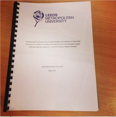 Dissertation success