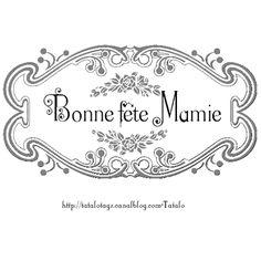 1000 images about bonne fete papa maman on pinterest bricolage can holders and candy flowers - Carte bonne fete mamie a imprimer ...