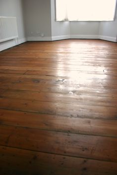 refinishing victorian floorboards - close up - osmo polyx oil amber - little greene French grey mid