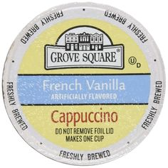 40-count K-cup Portion Packs for Keurig K-cup Brewers, Grove Square Cappuccino * Unbelievable product right here! : K Cups