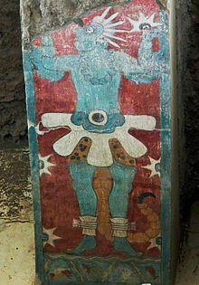 Mural en el Templo de Venus en Cacaxtla